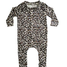 Boxpakje leopard beige