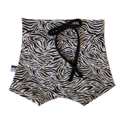 Short zebra zand