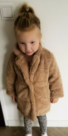 Soft camel beige coat