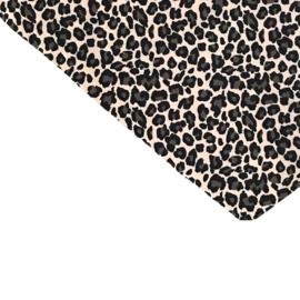Leopard beige aankleedkussenhoes