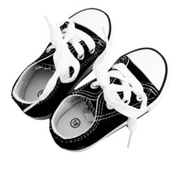 Low sneaker black/white