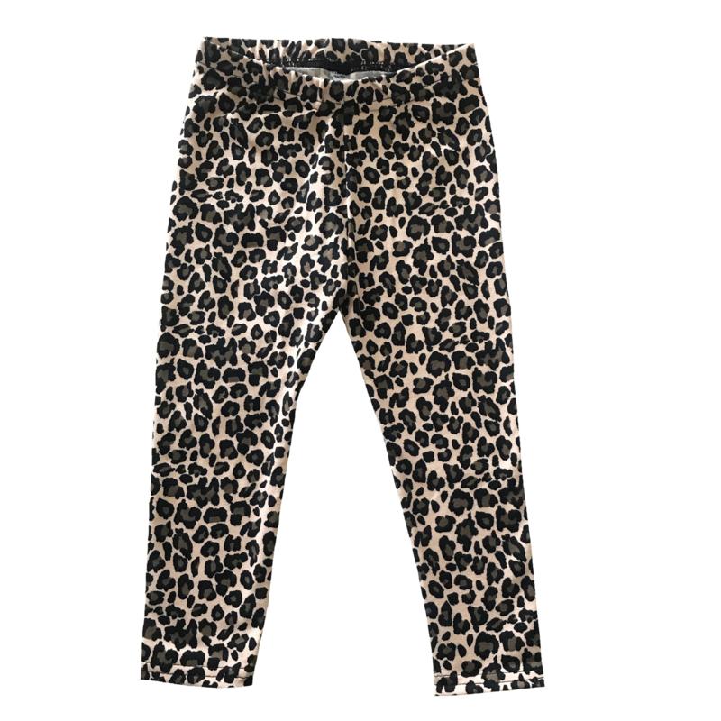 Leopard beige legging