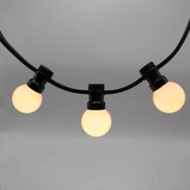 Prikkabel 5 meter compleet met 10 led lampen