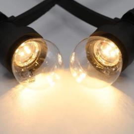 Led lamp transparante kap warm wit 1 Watt