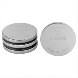 Knoopcel batterijen CR 2025 - 4 stuks