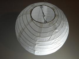 Witte lampion 20 cm