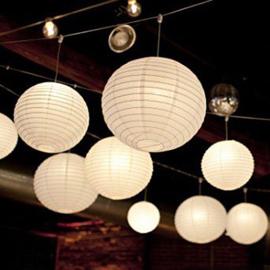 Lampion verlichting warm wit met afstandsbediening