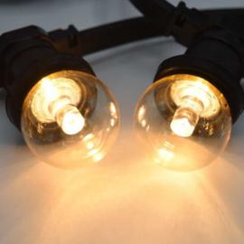 Transparante kap met lens 1 Watt