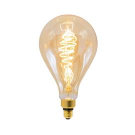Filament led lamp croissant peer amber glas 8,5 Watt - dimbaar