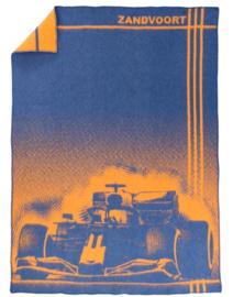 Deken Formule 1 Zandvoort - blauw