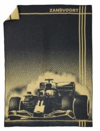 Deken  Formule 1 Zandvoort - grijs