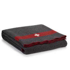 Decke Swiss de Luxe - grau
