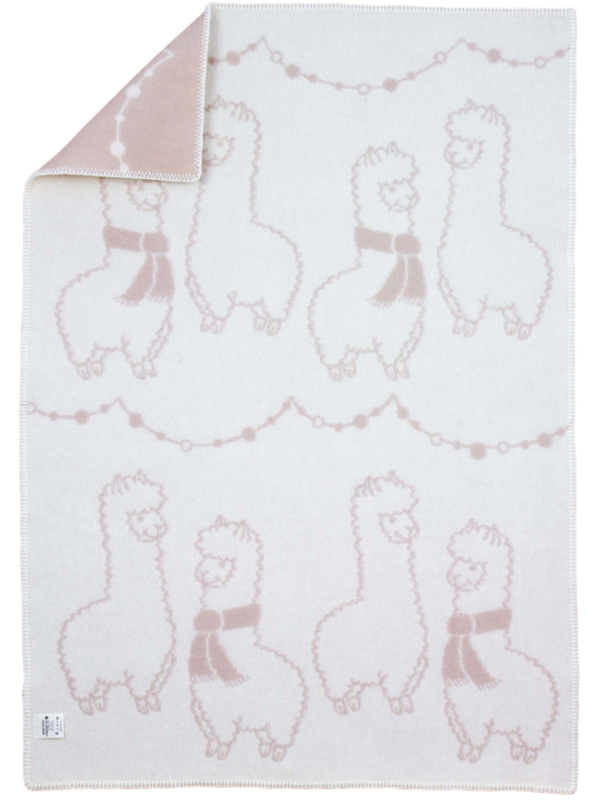 "Babydeken ""Little Alpacas"""