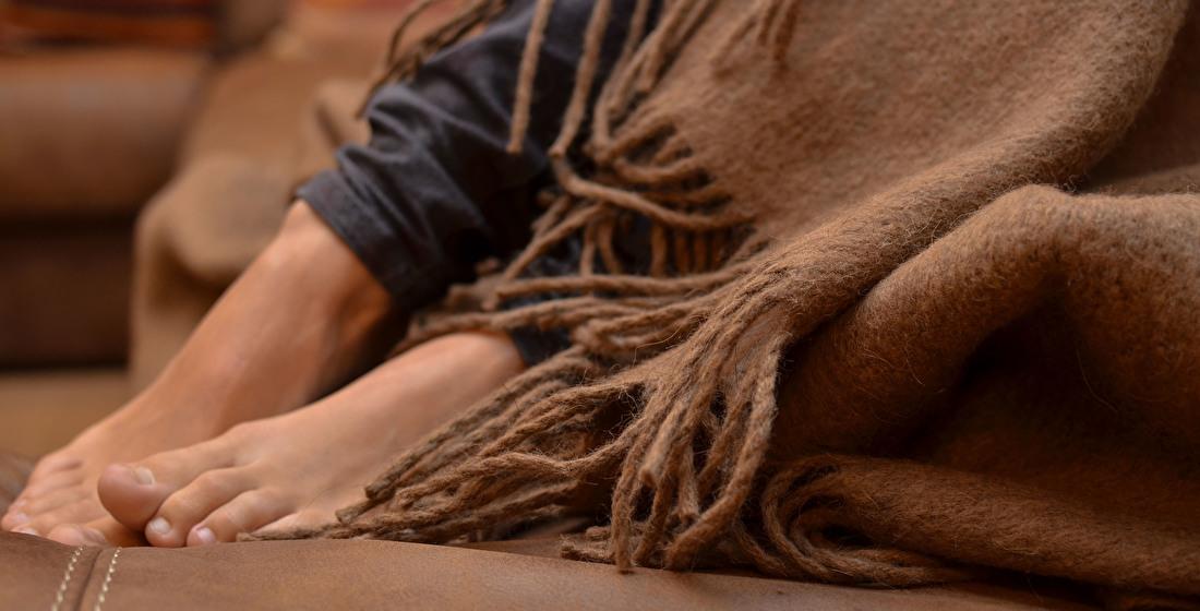 Camel wool plaids