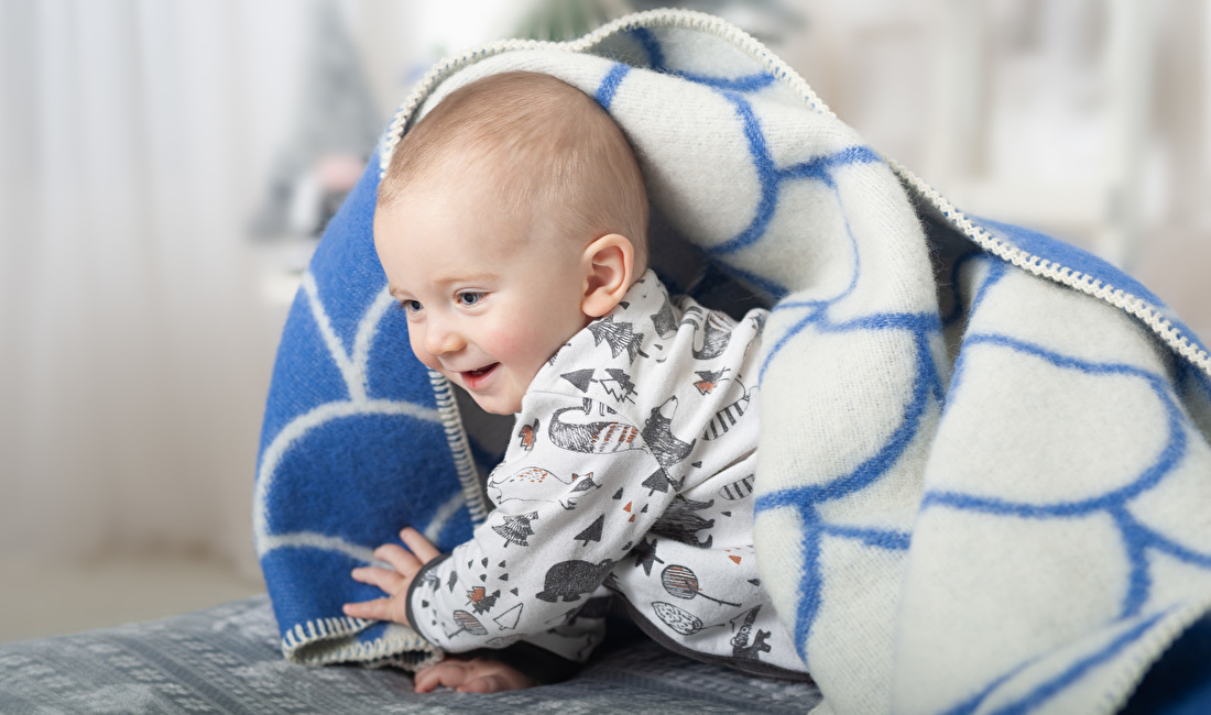 Babydekens - pure wol