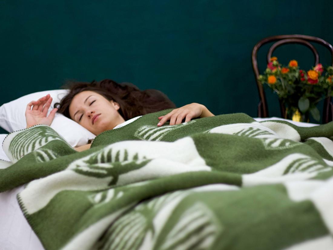 Slapen onder wollen dekens