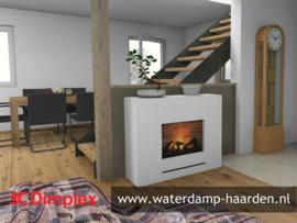 Dimplex Isabeau - Elektrische waterdamp haard compleet met ombouw.