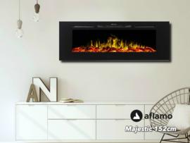 Aflamo Majestic 150cm - Wand sfeerhaard elektrisch