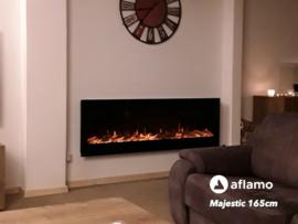 Aflamo Majestic 165cm - Wand sfeerhaard elektrisch