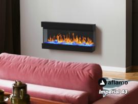 Aflamo Imperial 43 | 110cm  - Elektrische wandhaard