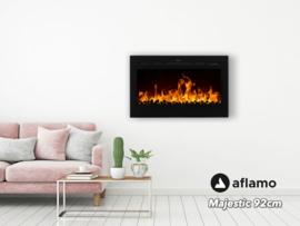 Aflamo Majestic 92cm - Wand sfeerhaard elektrisch