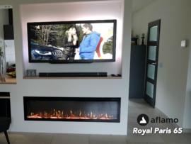 Aflamo Royal 165cm  - Elektrische inbouwhaard