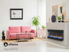 Aflamo Imperial 36 | 93cm  - Elektrische inbouwhaard