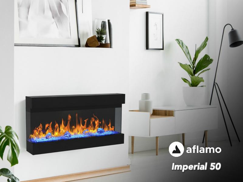 Aflamo Imperial 50 | 127cm  - Elektrische inbouwhaard