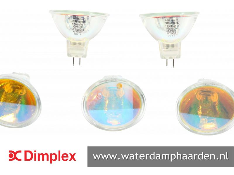 Faber Dimplex halogeen lamp xenon 45 watt met oranje toplaag