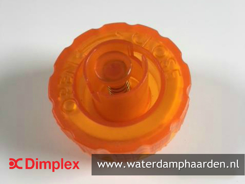 Dimplex Faber watertank dop Oranje - Waterdamphaard Optimyst