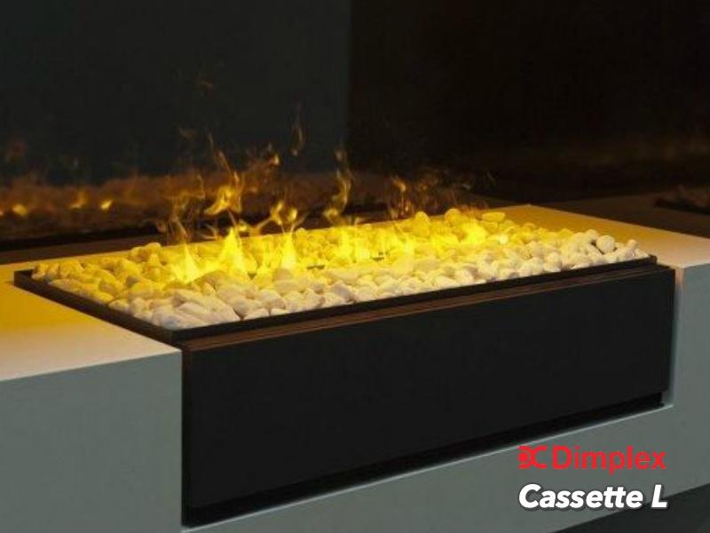 Faber Dimplex Cassette L met steentjes - Elektrische Opti-Myst Waterdamp haard
