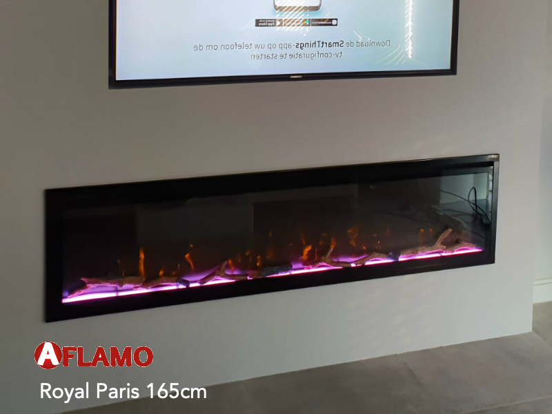 aflame royal 165cm dimplex ignite