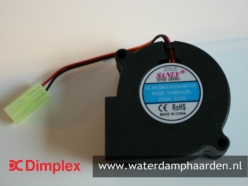 Dimplex ventilator - Waterdamp haard Optimyst