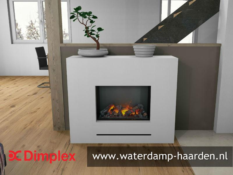 Dimplex Celeste - Elektrische waterdamp haard compleet met ombouw.