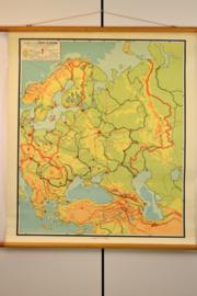 kaart van oost europa