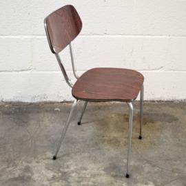 bruine formica stoel