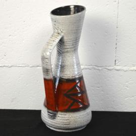 rood/grijze vaas (scheurich)