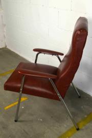 kastanjebruine stoel