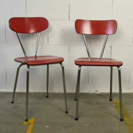 rode formica stoel
