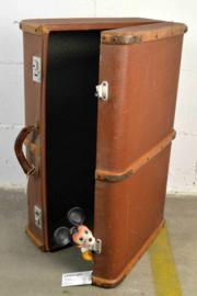 bruine reiskoffer