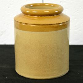 geglazuurde potten klein