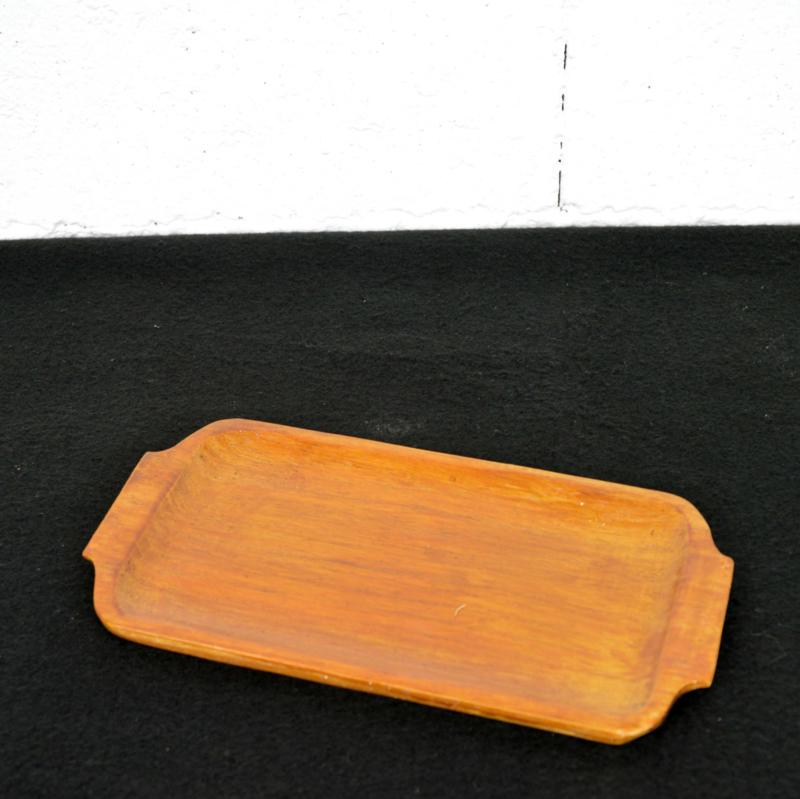 houten dienblaadje
