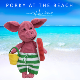 Porky at the beach