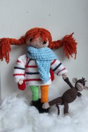 Pippi Langkous zomer en winterkleding & meneer Nilsson