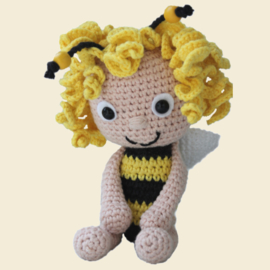 Bee happy knuffel