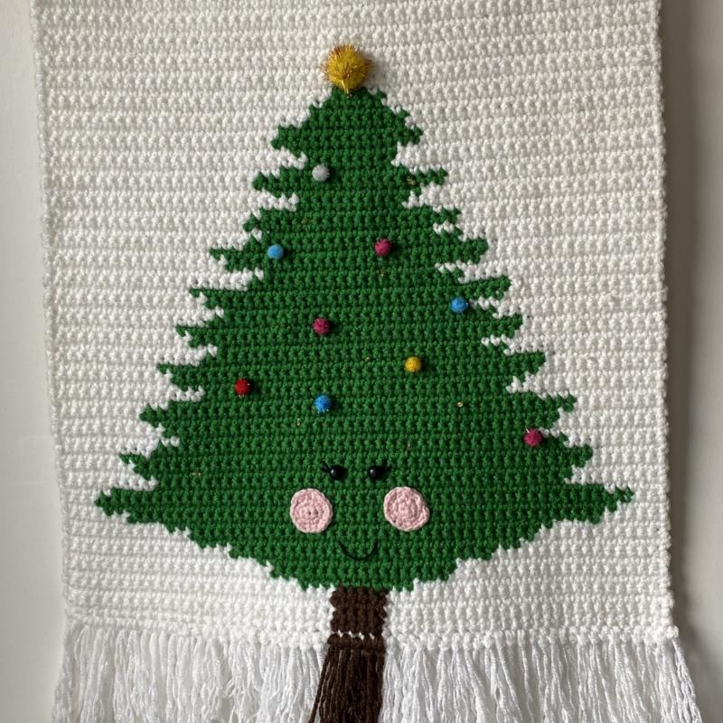 Kerstboom wandhanger (PDF)