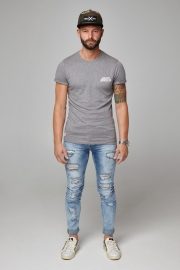 Rolled essential T-shirt