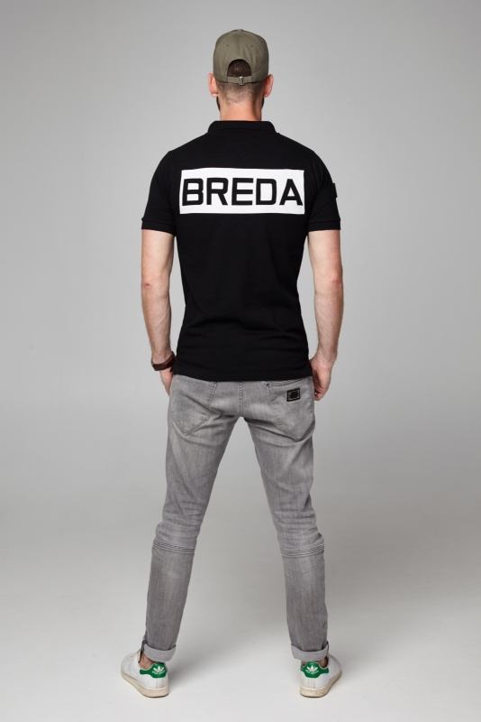 BREDA polo black