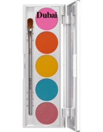 Oogschaduw palet 5 kleuren