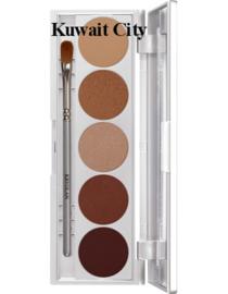 Shades oogschaduw palet 5 kleuren